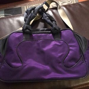 LULULEMON PURPLE BAG-NEVER USED
